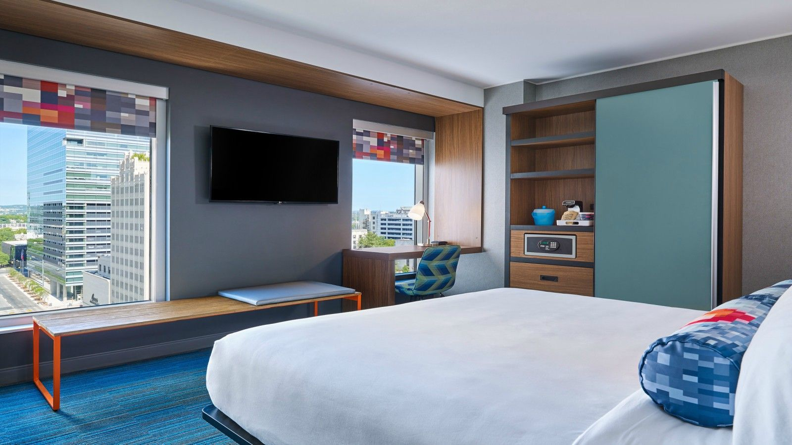 Downtown Austin Accommodations - Aloft King Room